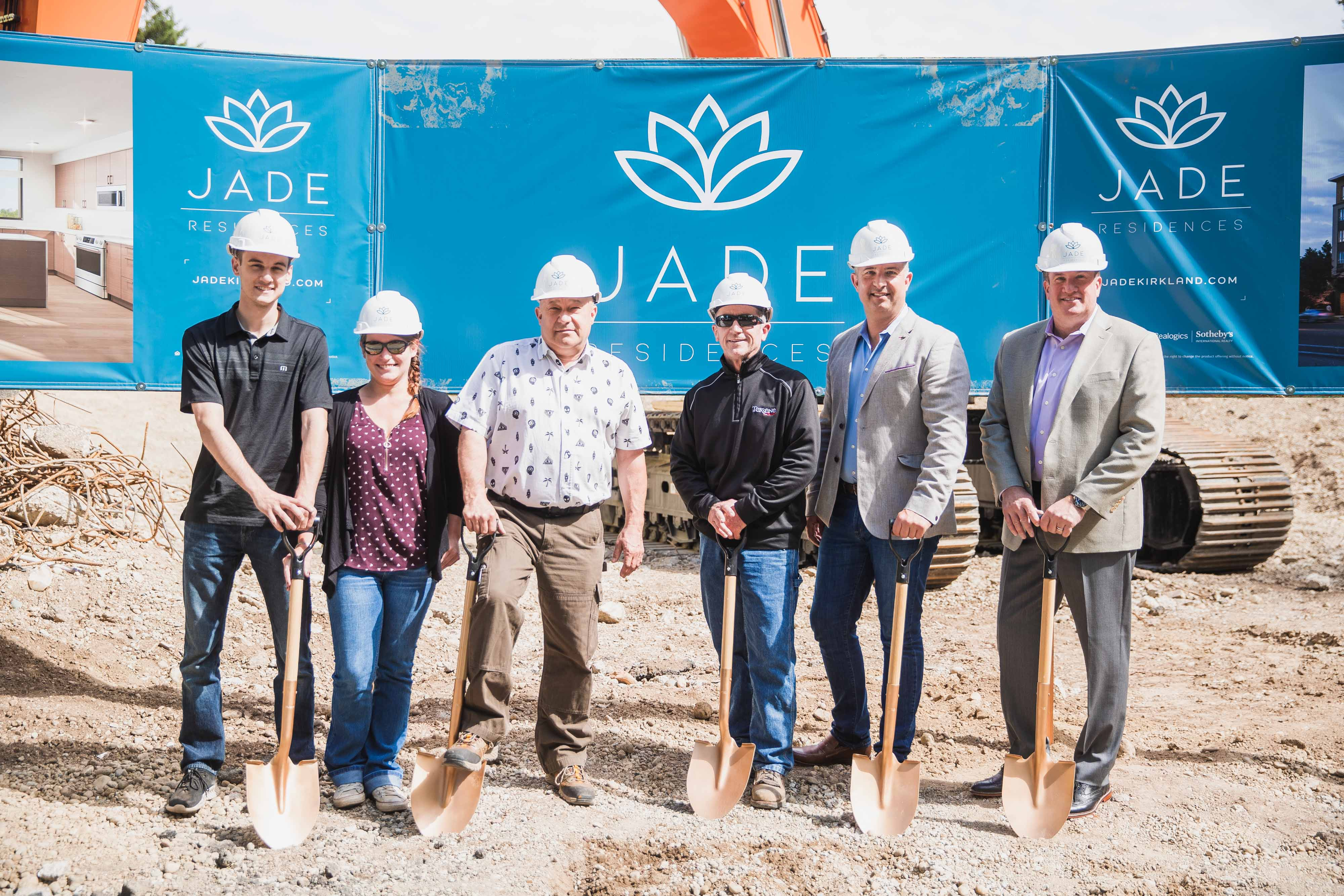 Terrene Urban and Partners Celebrate Kirkland Groundbreaking for JADE Residences | Jade Residences 5