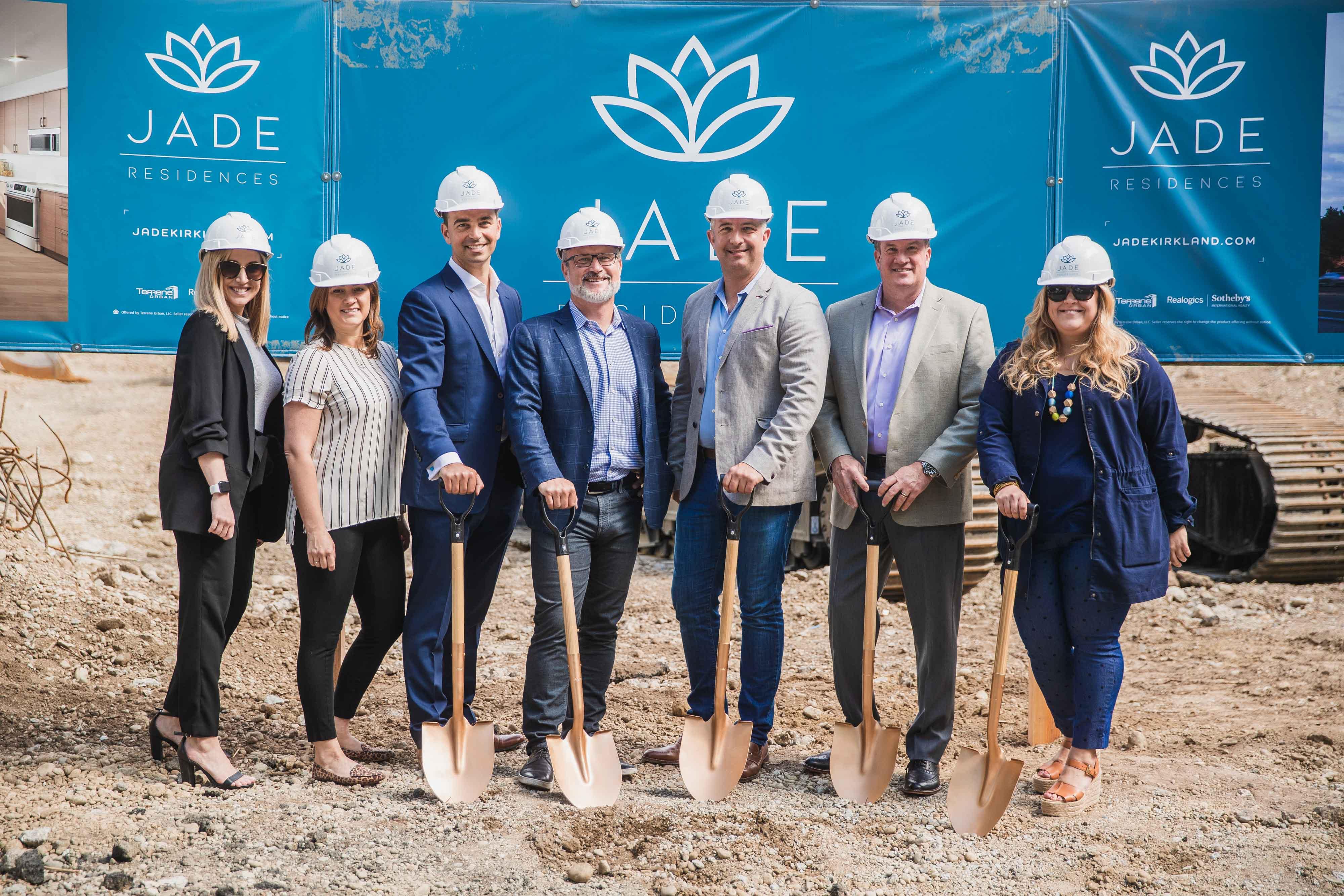 Terrene Urban and Partners Celebrate Kirkland Groundbreaking for JADE Residences | Jade Residences 8
