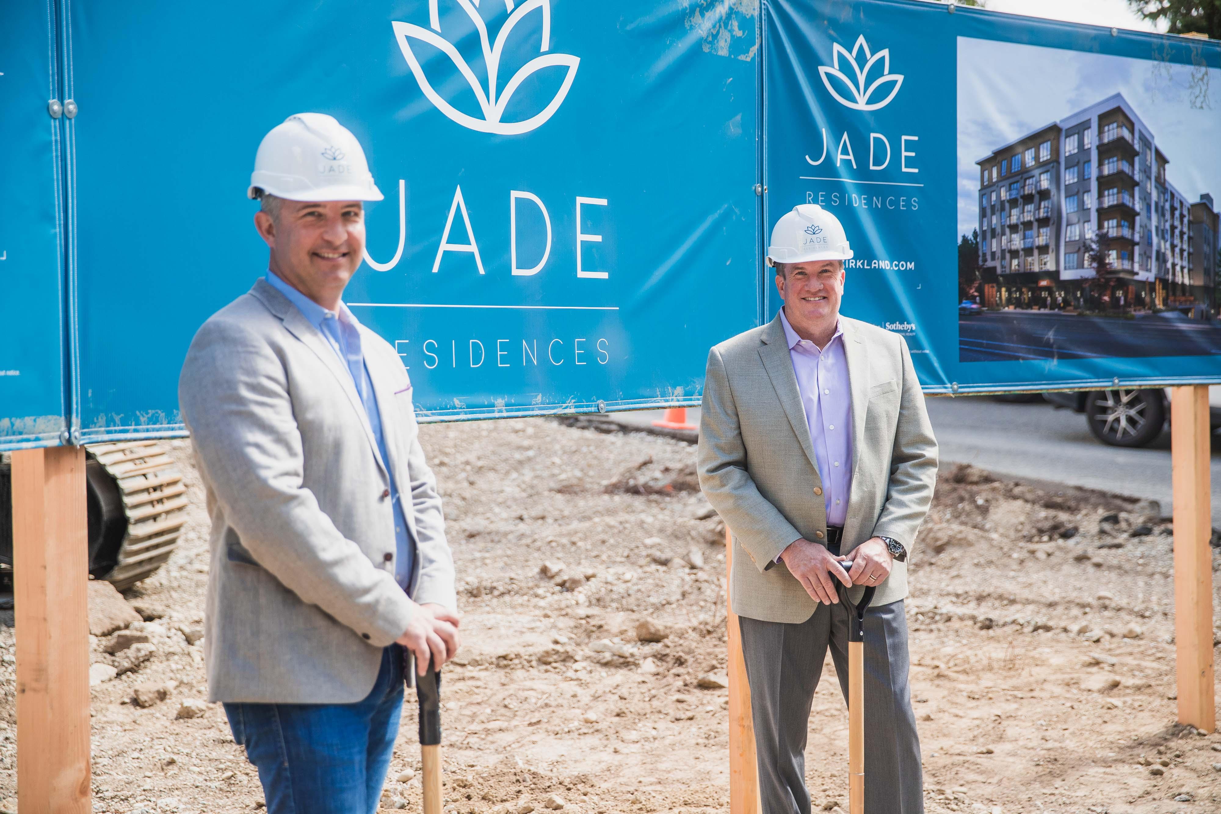 Terrene Urban and Partners Celebrate Kirkland Groundbreaking for JADE Residences | Jade Residences 10