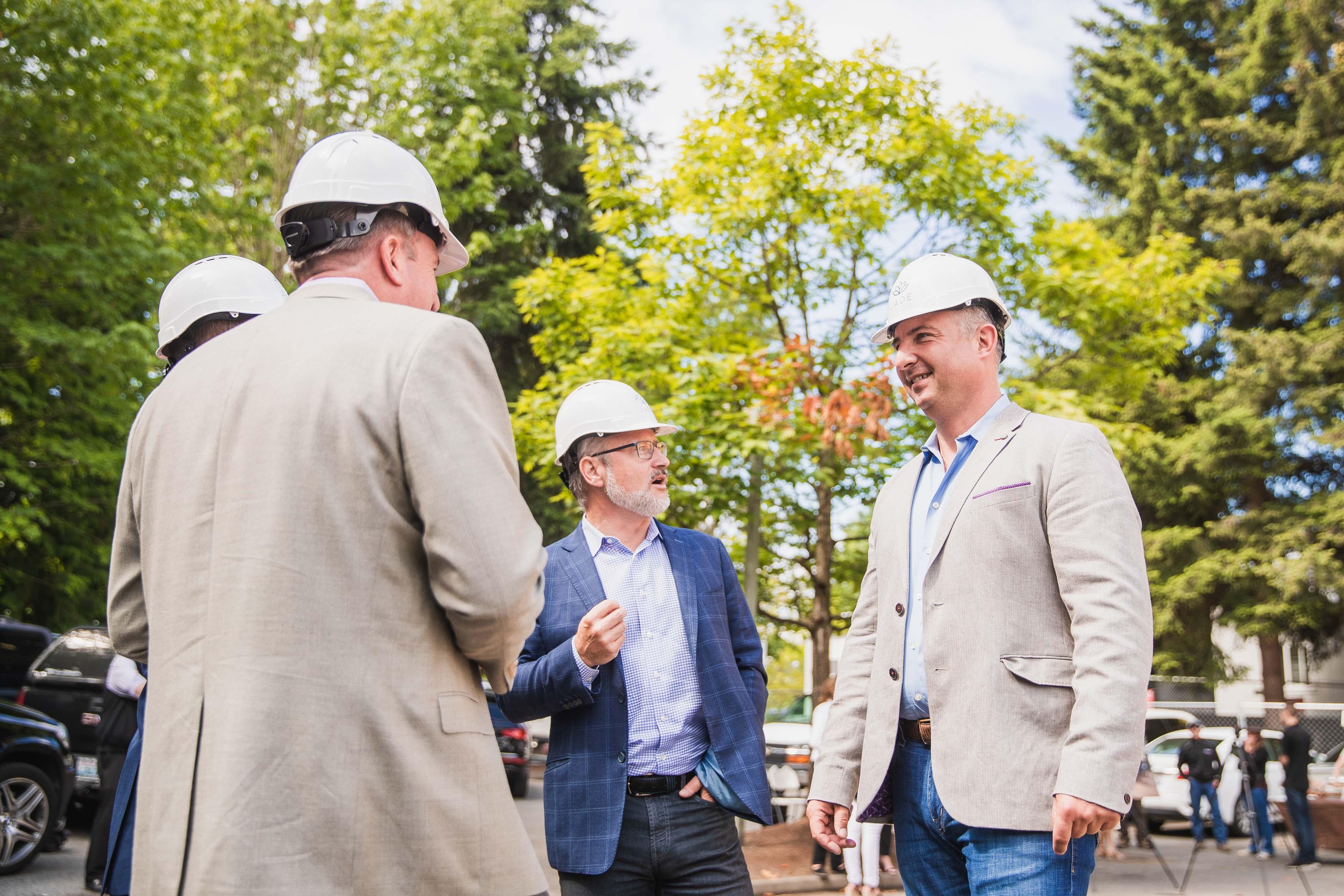 Terrene Urban and Partners Celebrate Kirkland Groundbreaking for JADE Residences | Jade Residences 11