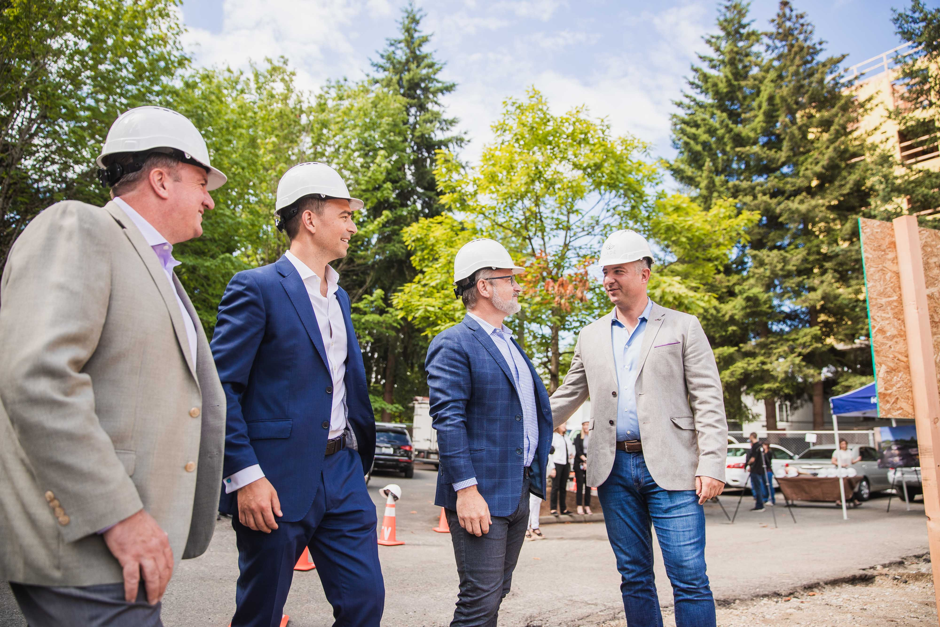 Terrene Urban and Partners Celebrate Kirkland Groundbreaking for JADE Residences | Jade Residences 12