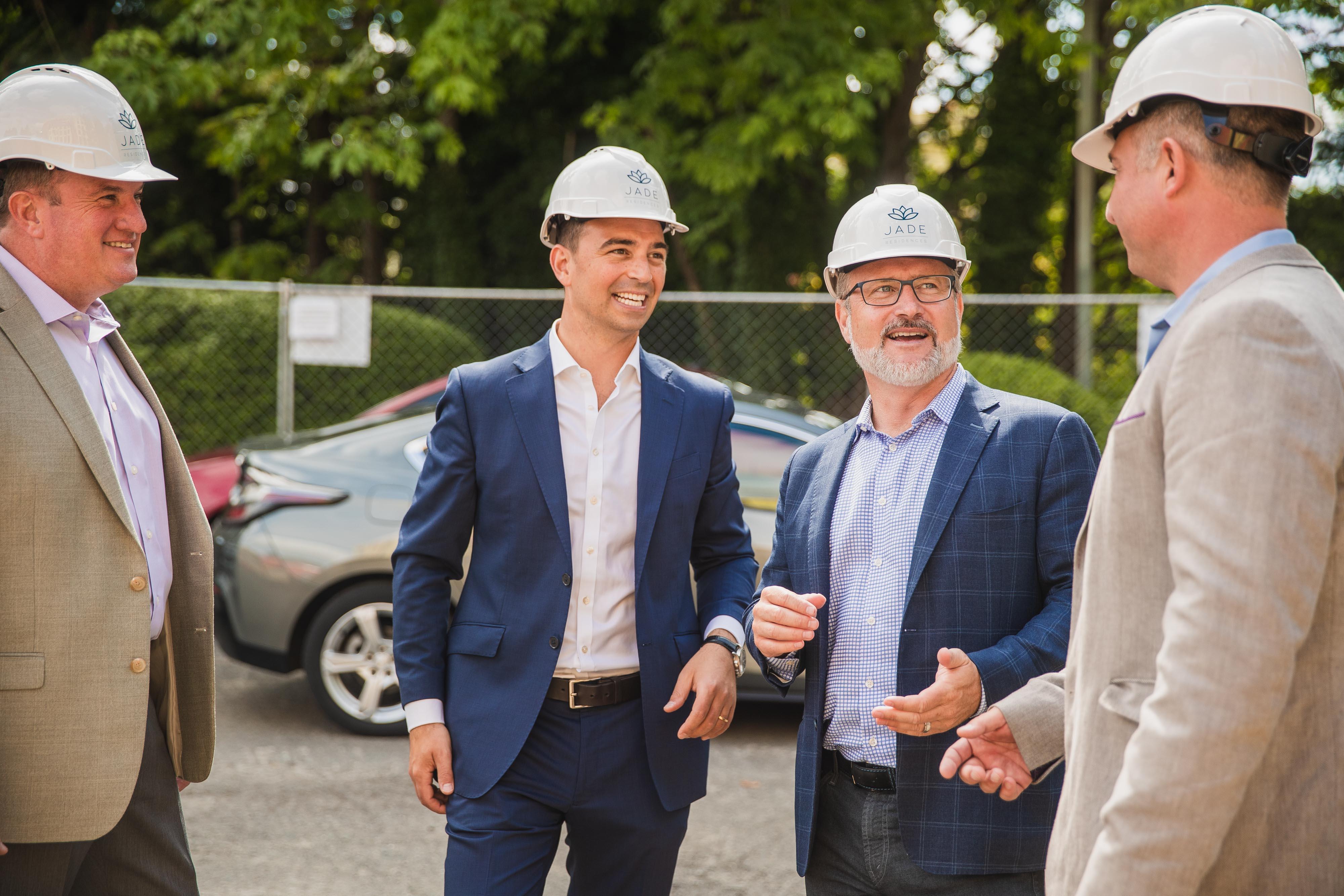 Terrene Urban and Partners Celebrate Kirkland Groundbreaking for JADE Residences | Jade Residences 14